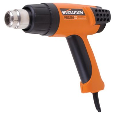 Evolution HDG200 Digital Heat Gun (Orange)