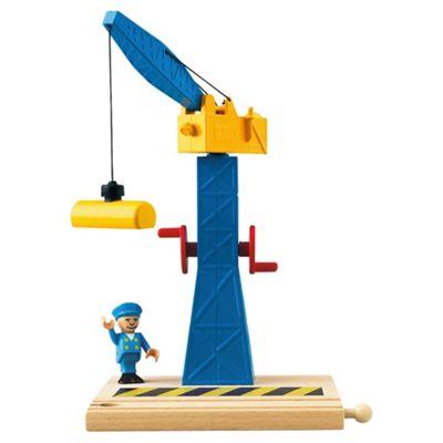 Brio Classic Accessory Tower Crane, wooden toy