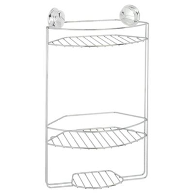 Buy Croydex Twist N Lock Plus 3 Tier Shower Caddy From Our