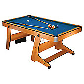 BCE Deluxe Folding 6ft Pool Table - FP-6TT