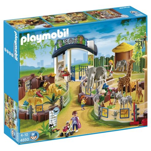 Playmobil 4850 Large Zoo