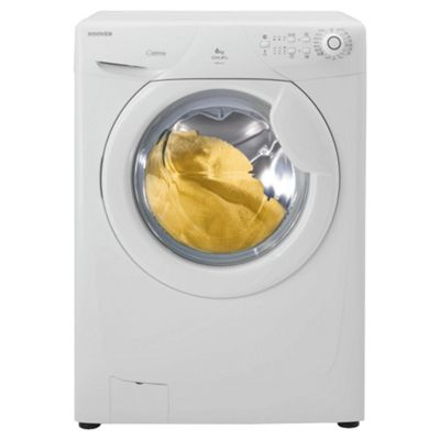 Hoover OPHS612 Washing Machine, 6kg Wash Load, 1200 RPM Spin, A+ Energy Rating. White