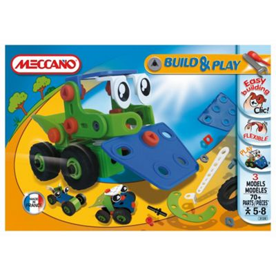 Meccano Build & Play Bulldozer