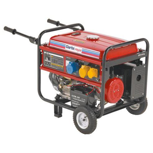 Clarke FG5100ES 5.5 kVA portable petrol generator