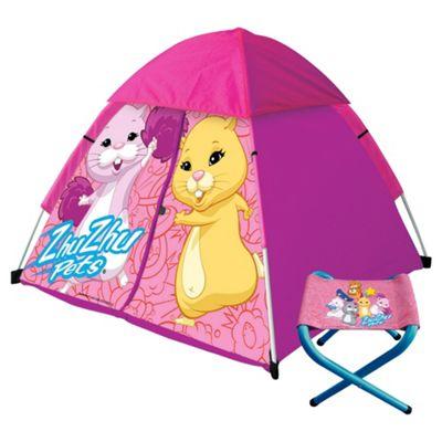 Zhu Zhu Camping Set, Pink