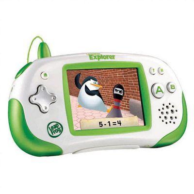 Leapfrog Leapster Explorer Learning Gaming System - Green