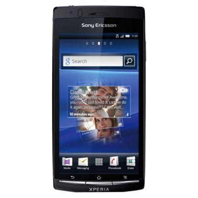 Tesco Mobile Sony Ericsson Xperia Arc Midnight Blue