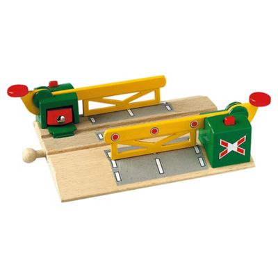 Brio Classic Magnetic Action Train Crossing, wooden toy