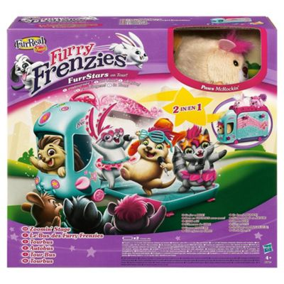 FurReal Furry Frenzies Tour Bus Playset