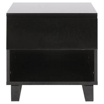 Urban Bedside Table, Black