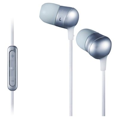 JVC Marshmallow Headphones with Remote/Mic Silver HAFR50PE