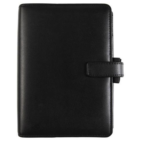 Filofax Personal Identity A6 Organiser, Black