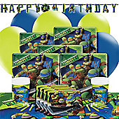 Ninja Turtles Deluxe Party Pack for 8