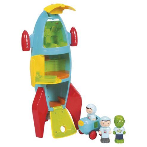 Carousel Toy Rocket