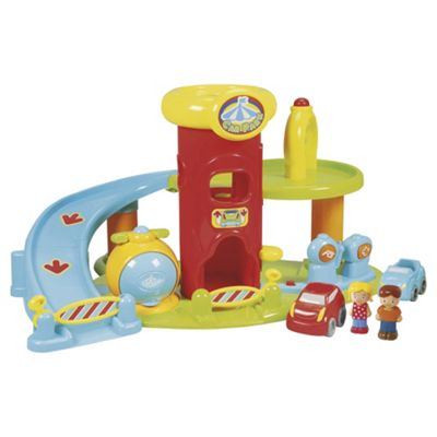 Carousel Car Park Playset
