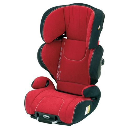 Jané Montecarlo R1 Car Seat, Group 2-3, Holland Garnet
