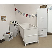 Larrisa 4 piece Roomset white