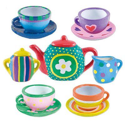 Paint Tea Set Crafty Cases