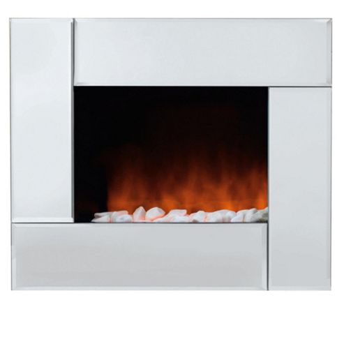 Pifco PE189 Wall Mounted Fire with Pebble