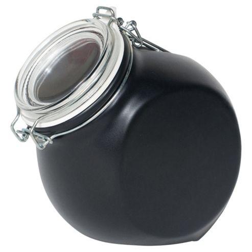 Nigella Lawson Living Kitchen 1.5L Storage Jar, Black