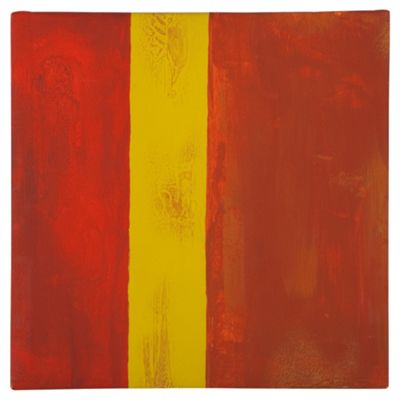 Orange Abstract Canvas
