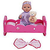 Emmi Doll with Cradle