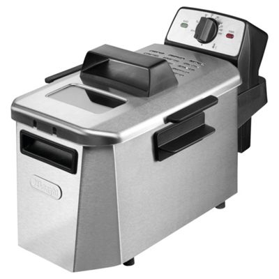 Delonghi Cool Zone Fryer, F24402CZ - Stainless Steel