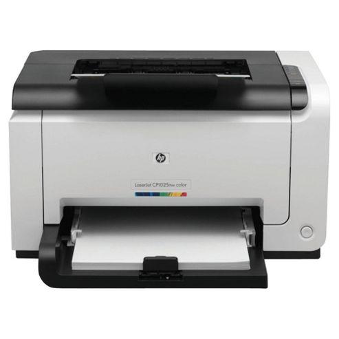HP Laser Jet Pro CP1025NW Wireless Colour Laser Printer