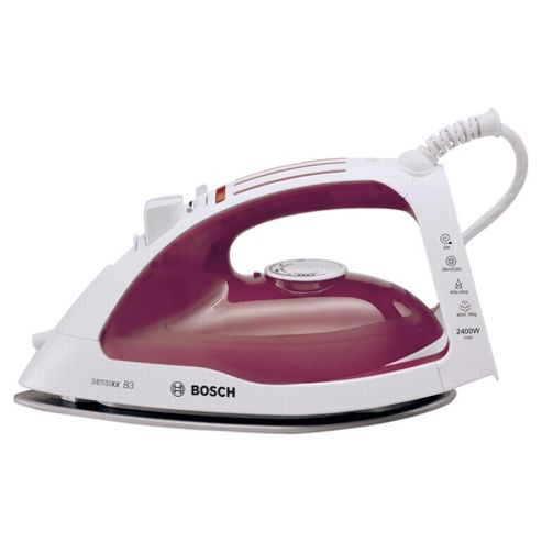 Bosch TDA4632GB variable Steam Generator with Ceramic Plate - White/Red