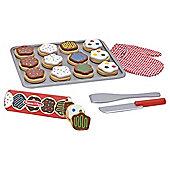 Melissa & Doug Slice And Bake Wooden Cookie Set