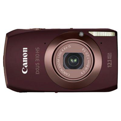 Canon IXUS 310 HS Digital Camera Brown