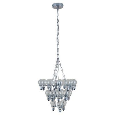 Buy Tesco Lighting Leitmotiv Light Bulb Chandelier From