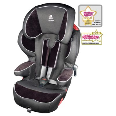 Renolux Quick Confort Car Seat, Group 123, Black Knight