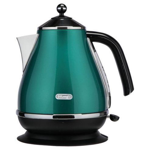 De'Longhi KBO3001G 1.7 litre 3 kw Icona Jug Kettle- Green