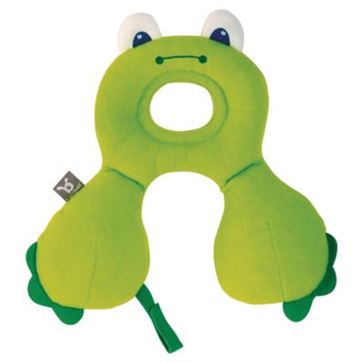 Travel Friends Headrest, Birth 0-12 Months, Frog