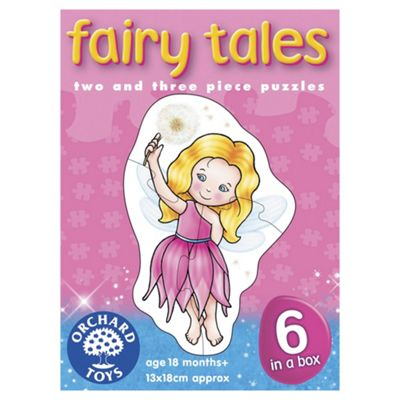 Orchard Toys Fairy Tales 6-in-1 Jigsaw Puzzles