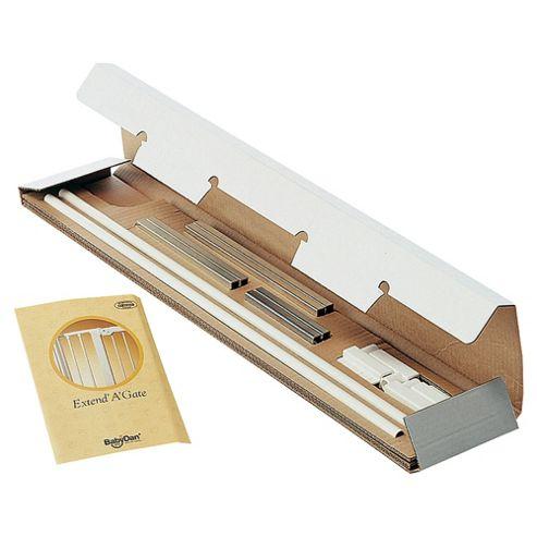 BabyDan 13cm Extension Kits silver & Beech