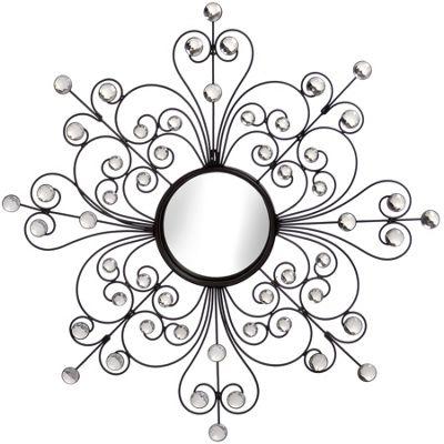 Metal Starburst Mirror