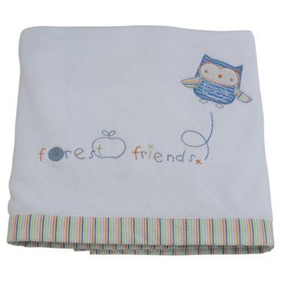 Tesco Fleece Blanket, Forest Friends