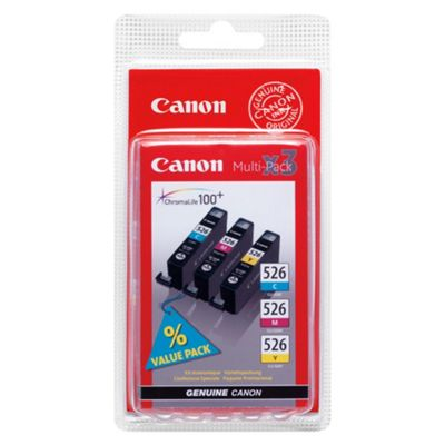 Canon CLI-526 C/M/Y Ink Cartridge MultiPack
