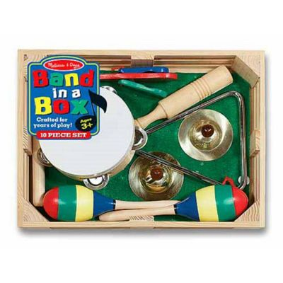 Melissa & Doug Children's Wooden Toy Band In Box