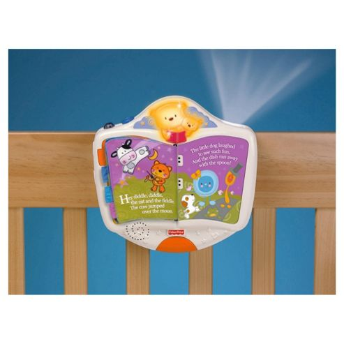 Fisher-Price Discover & Grow Story Book Projection Soother