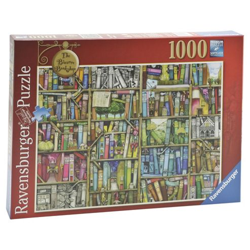 Ravensburger The Bizarre Bookshop, 1000-Piece Jigsaw Puzzle