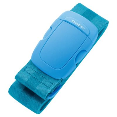 Samsonite Suitcase Luggage Strap, Blue