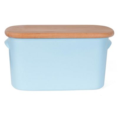 Nigella Lawson Living Kitchen Bread Bin, Blue