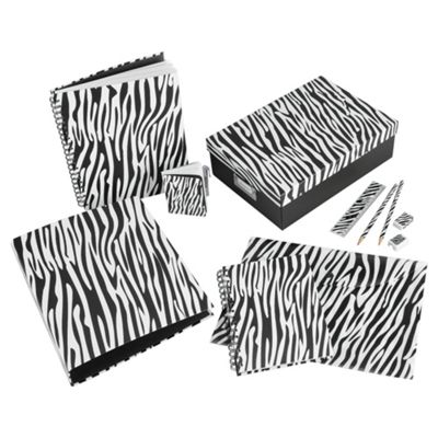 Safari Zebra Stationery Collection