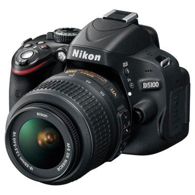 Nikon D5100 DSLR with 18-55mm VR Lens Kit