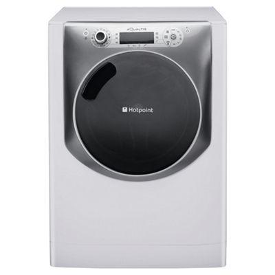 Hotpoint Aqualtis Washing Machine, AQ113F 497E UK, 11KG load, with 1400 rpm - White
