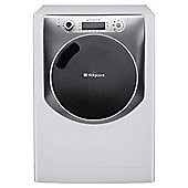 Hotpoint Aqualtis Washing Machine, AQ113F 497E UK, 11KG load, with 1400 rpm - White