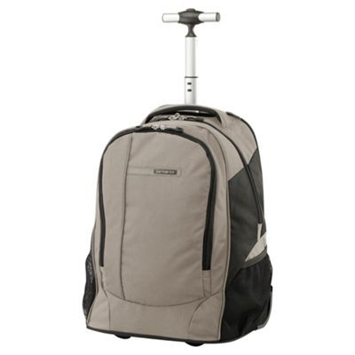Samsonite Wander-Full 2-Wheel Laptop Backpack, Sand